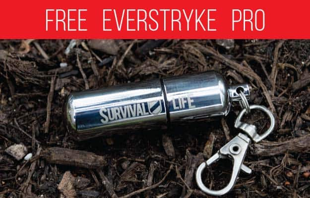 Here's Why The Free Everstryke Pro Is The Best Survival Lighter (Video Proof!)